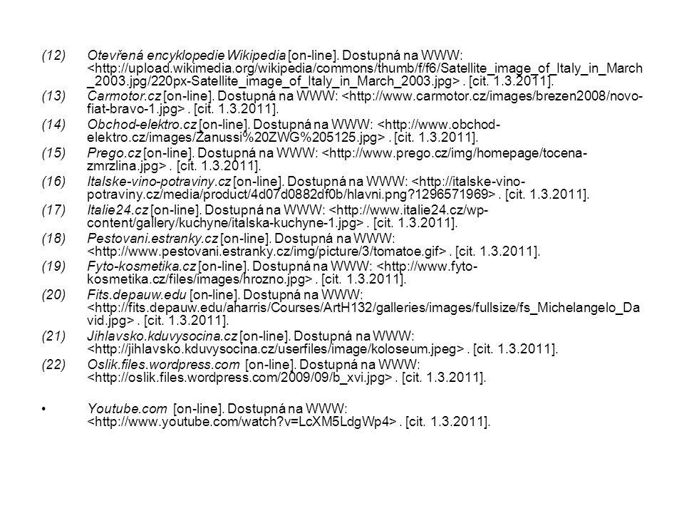 Otevřená encyklopedie Wikipedia [on-line]